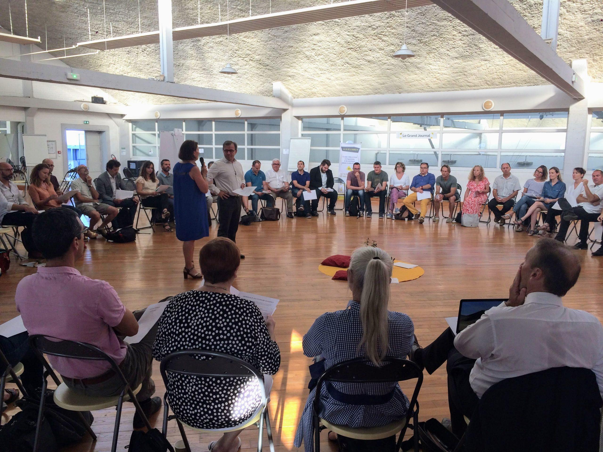 Cercle d'ouverture - Forum Ouvert La Rochelle - Humanance