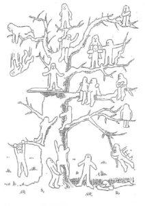 arbre des bonhommes
