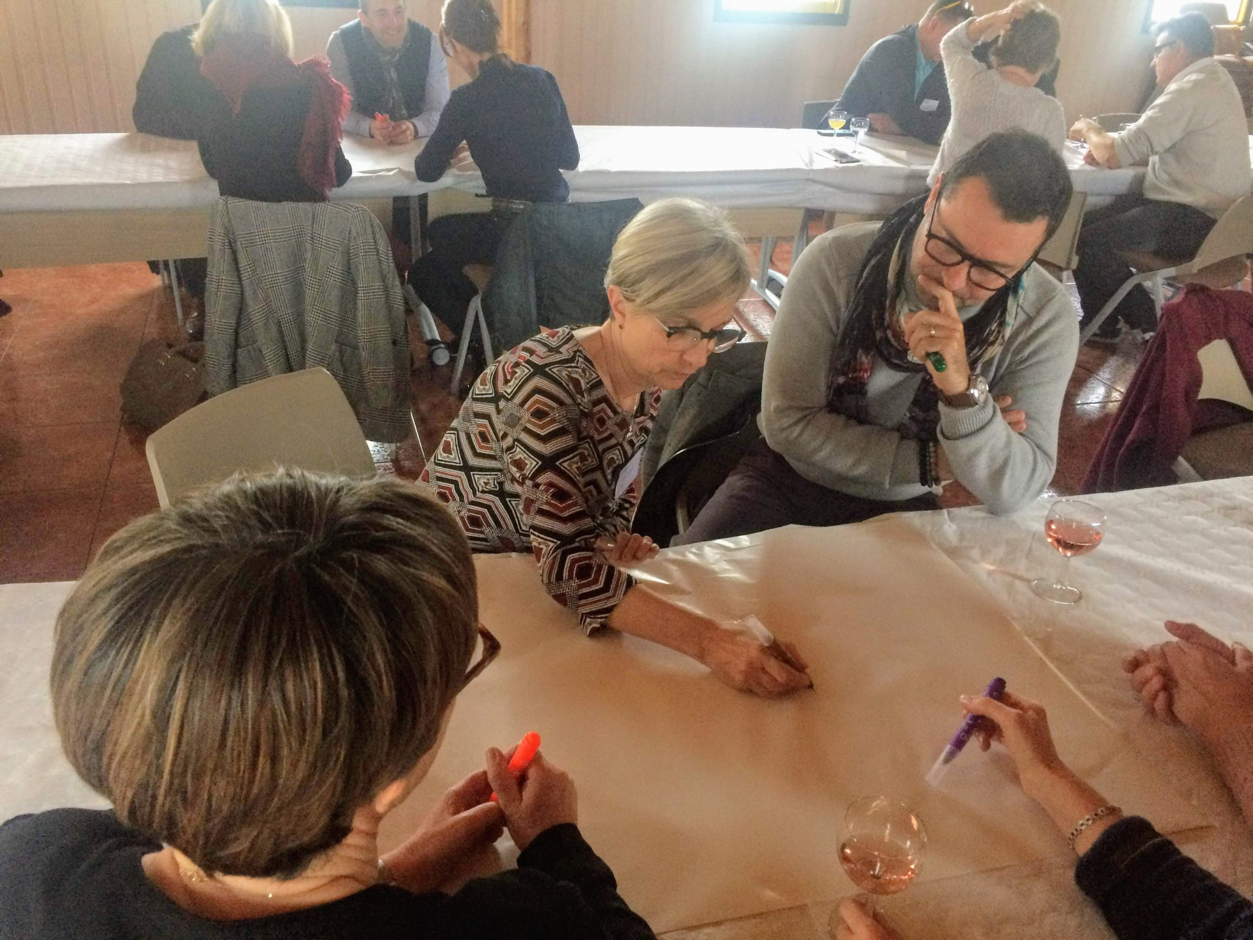 World café - Intelligence collective - Charente-maritime - Humanance